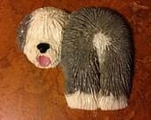 Old English Sheepdog Magnet
