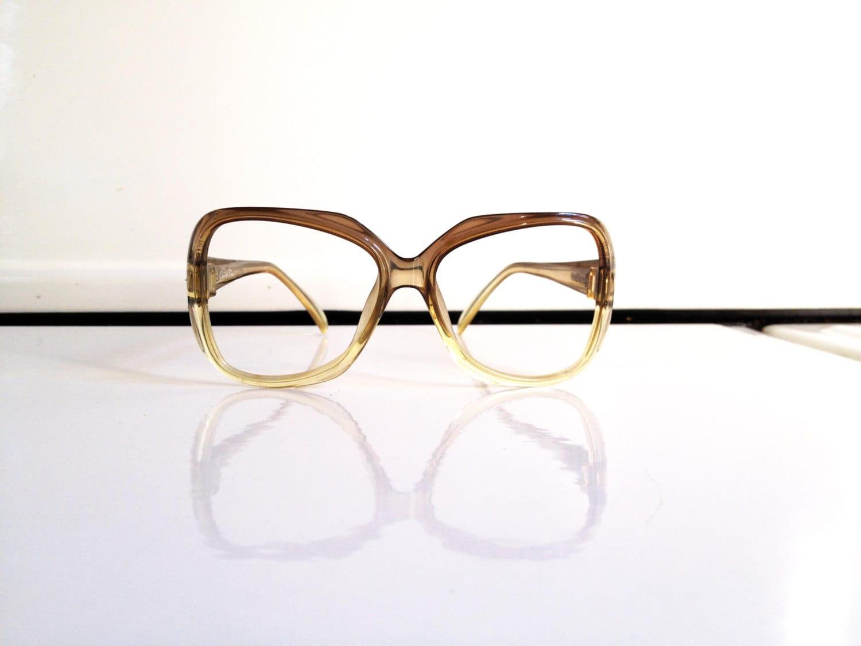 Vintage Dior Eyeglass Frames : Vintage Christian Dior Oversized Glasses Frames by ...