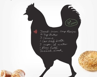 Rooster Chalkboard Wall Decal - 0018