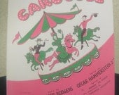 If I Loved You from the Musical Carousel Sheet Music 1945