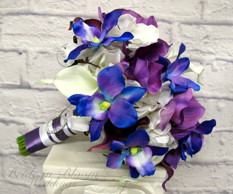 Best Purple And Blue Wedding Bouquets Ideas - Styles & Ideas 2018 ...
