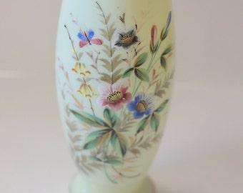 Light mint green vase