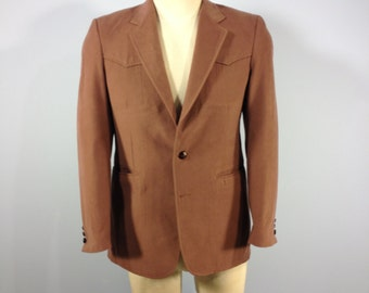 Vintage Wrangler Ultra Suede, Wrangler jacket, country western jacket, cowboy coat, 40 reg jacket