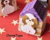 Shitzu Puppy Dog Post It Memo Note Pad 30 sheets SS358