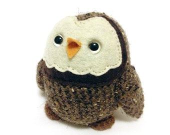 Pygmy Owl Plush Toy  - Made to Order