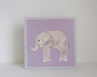 jungle nursery decor, elephant wall art- nursery decor- kid room decor- purple nursery art-moroccan nursery-redtilestudio, safari animal