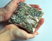 Reusable Hand Warmers in Camo Print Flannel with Frogs - Great Gift for Boys