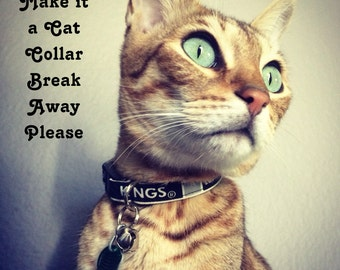 UPGRADE - Make if a Cat Collar - with a BREAK Away Buckle