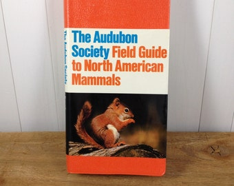 Vintage Audubon Society Field Guide To North American Mammals