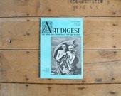 Vintage 1930s Art Digest Magazines