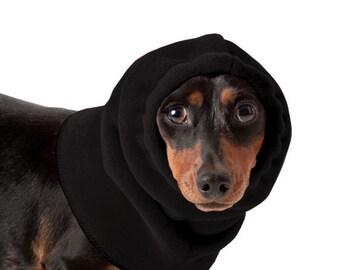 DACHSHUND Dog Hood, Dog Hat, Snood