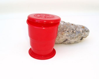 Vintage Boys Scouts of America | Collapsible Cup | Boys Scouts Camping | Travel Cup | Memorabilia
