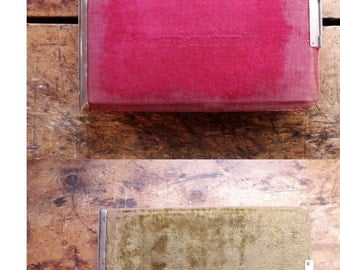 Antique Velvet Covered Photo Album - Perfect for your Vintage Inspired Wedding!