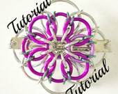 Tudor Rose Hair Clip Tutorial