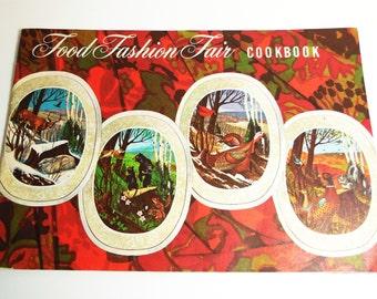 Food Fashion Fair Cookbook Booklet - Rural Gravure - 1966 Vintage book