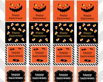 Halloween Party Favor Tags Printable ~ Instant Download!