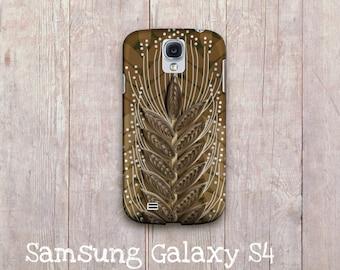Wheat field illustration Samsung Galaxy S4 hard case, Samsung Galaxy S III hard cover, samsung galaxy s3 cover, Samsung Galaxy S4 case,