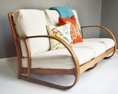 Mid-Century Bentwood Sofa by Lloyd Manufacturing Company - Division of Heywood Wakefield