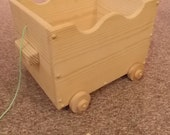 Pull Cart Handcrafted