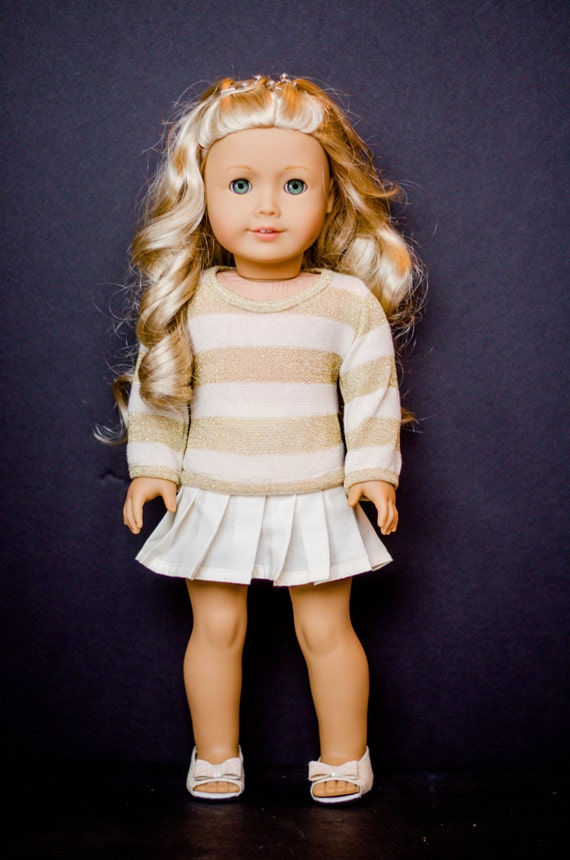 The Sophia Sweater for American Girl and other 18 inch dolls
