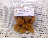 Maple Sugar Leaf Candies 3 oz package/stocking stuffer/ Vermont maple candy