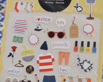 Suatelier favorite Sticker (1 Sheet)