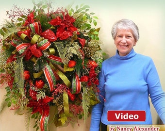 How to Wreath DVD, Christmas Wreath Instructional Video, Teaches YOU to Make Your Own Beautiful Christmas Wreaths