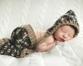 Camo Newborn Longies (Also over 70 colors available in these pants)