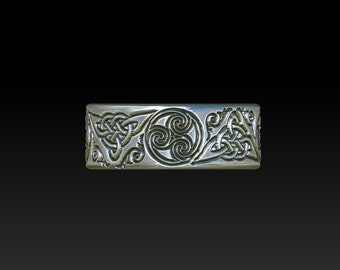 wedding ring   celtic ring   celtic band    celtic wedding ring   wedding band  mens ring women ring YB119