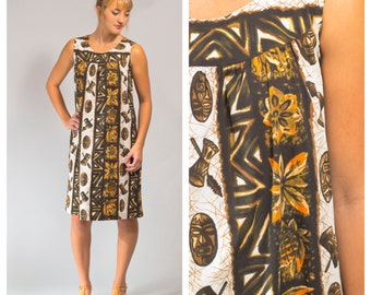 Vintage Hawaiian dress size small