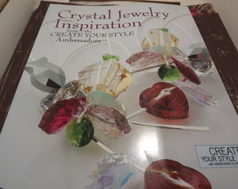 Signed - Crystal Jewelry Inspiration from the Creat Your Style Ambassadors - Book - 2013 - Kim Van Voorhees
