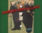 Kingpin - Super Villain Light Switch Plate