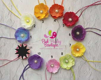 You Pick 2 Baby Headbands - Baby girl Headbands - Newborn Headbands - Infant Headbands - Flower Headbands - Baby Hair Accessories