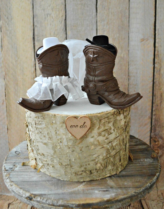Country Western Wedding Cowboy Boots Wedding Cake