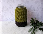 HALF GALLON size Mason jar Cozy
