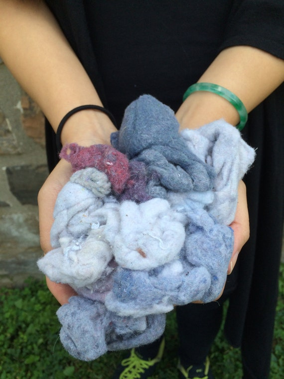 Art Craft Supply Fabric Supply Fresh Dryer Lint Crazy Weird Lot Cotton Craft Art Clean Hand Collected Goddess Blessed Herb Healing Wicca Alt