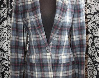 Vintage 1970's Ladies Pendleton Wool Jacket;  Item #347-LJ