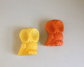 Owl Candles : Halloween Decor
