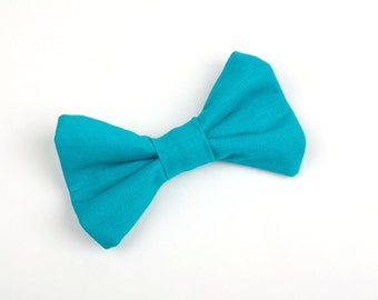 Turquoise bow tie, teal bow tie, turquoise wedding, ring bearer bow tie, boys turquoise bow tie, toddler bow tie, baby bow tie, toddler tie