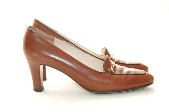 Ferragamo High Heels Shoes - Brown - Size 7