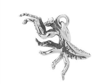 Sterling Silver Praying Mantis Charm