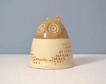 Vintage Bennington Potters Owl Bank