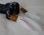 Little Dots Scarf Camera Strap