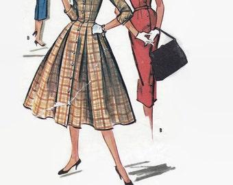 McCalls Pattern 3981 / Sewing Pattern / Wiggle Dress / Shirtwaist  / 1950s