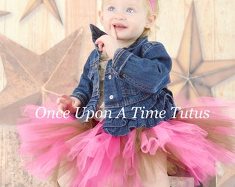 Cowgirl Cutie Tutu - Newborn 3 6 9 12 18 24 Months 3T 4T 5 6 8 10 Adult - Country First Birthday, Photo Prop, Cowgirl Halloween Costume