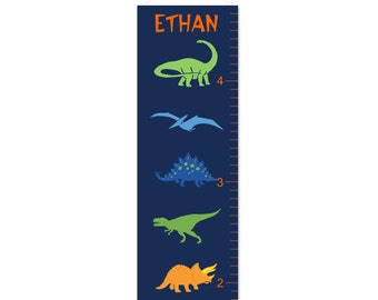 Dino Personalized Growth Chart