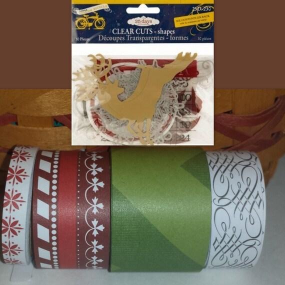Holiday Christmas SCRAPBOOK Card KIT /  Inspiration Junk Journal Altered Art Mixed Media