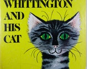 Vintage 1978 Wonder Books DICK WHITTINGTON and his CAT Book Hardcover