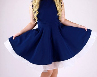Navy Doctor Who Dress