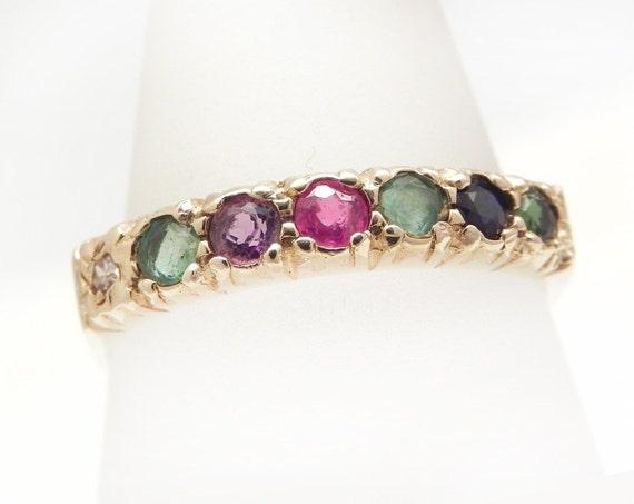 Dearest Ring Vintage Gold Dearest Eternity Ring Engagement